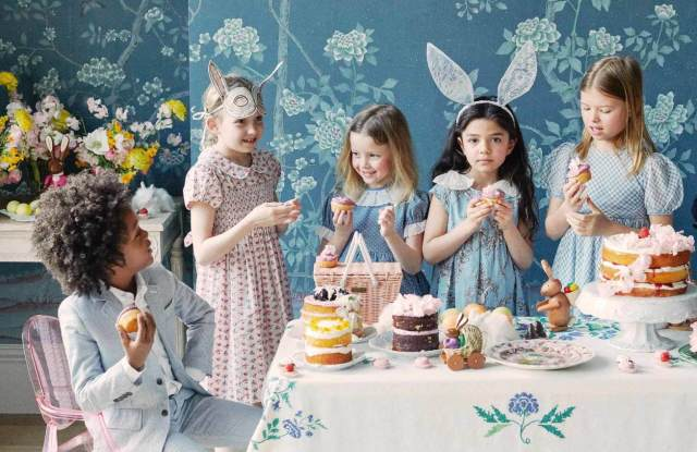 Easter dresses from Maisonette.