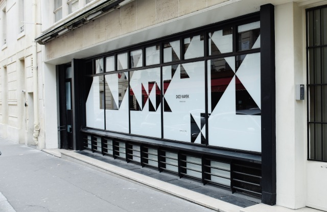 The first Dice Kayek store in Paris