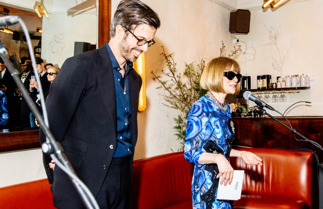 Will Welch and Anna Wintour.