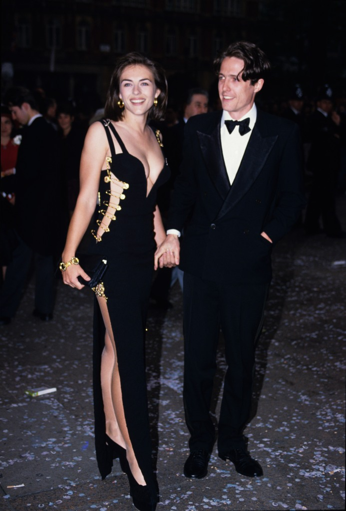 Elizabeth Hurley Versace Safety Pin Dress 1994