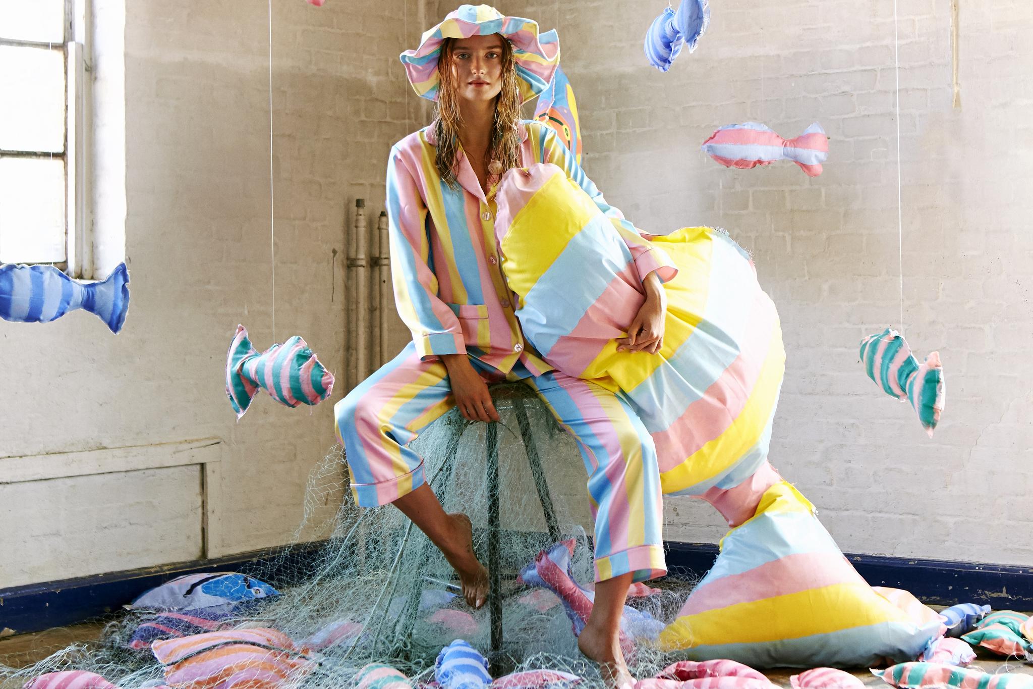 Copenhagen designer Emilie Helmstedt's fairy tale-inspired debut collection.