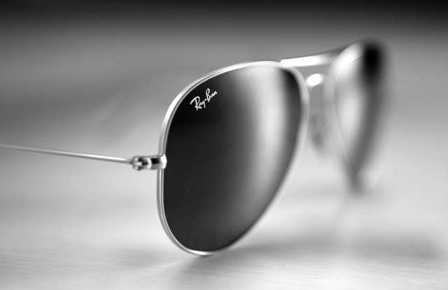 Ray Ban's Aviator sunglasses