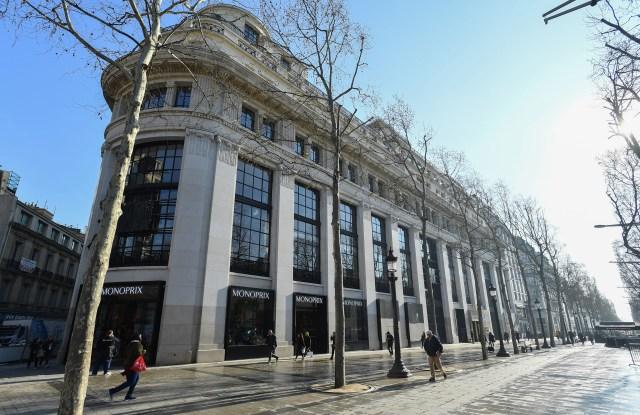 The Galeries Lafayette-Champs Elysées flagship.