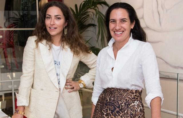 Geraldina Bassani Antivari and Michal Saad