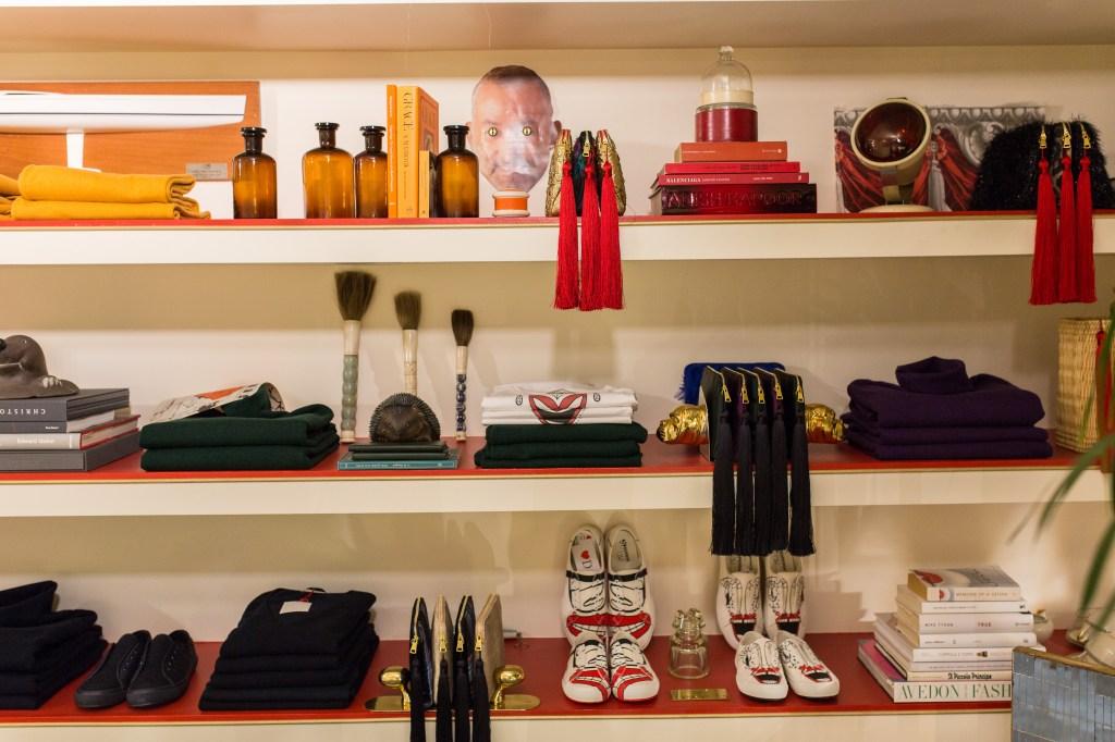 The Geraldina store in Milan