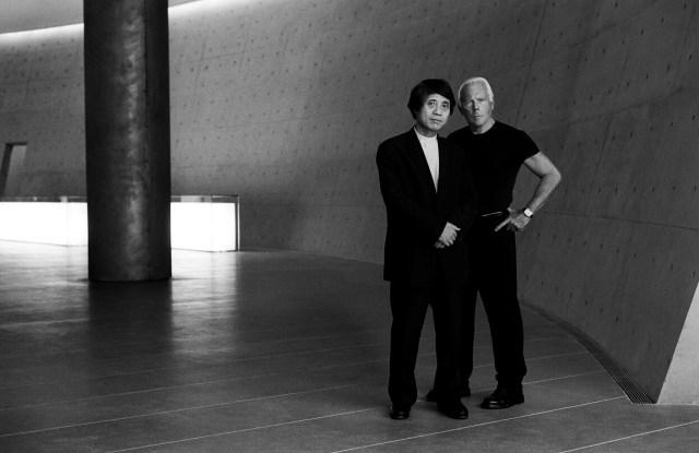 Giorgio Armani and Tadao Ando.
