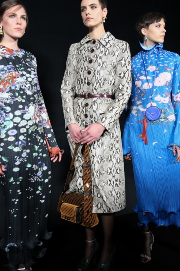 Backstage at Givenchy RTW Fall 2019