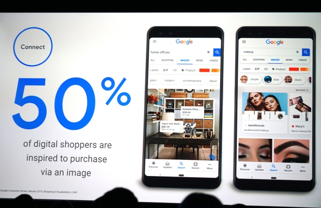 Google announced shoppable Google Image ads on Tuesday at Shoptalk in Las Vegas