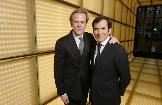 Guillaume Houzé and Nicolas Houzé