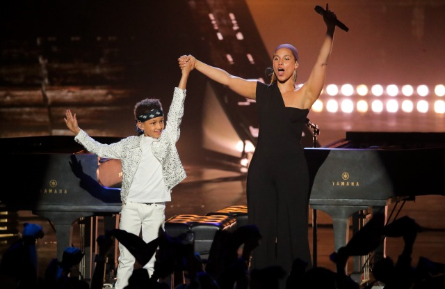 Egypt Daoud Dean and Alicia KeysiHeartRadio Music Awards, Show, Microsoft Theater, Los Angeles, USA - 14 Mar 2019