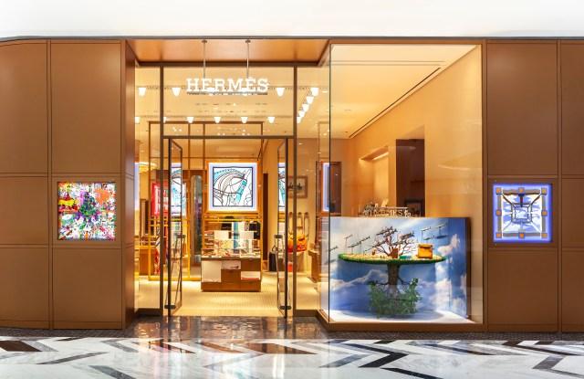The Hermès store in Phuket.