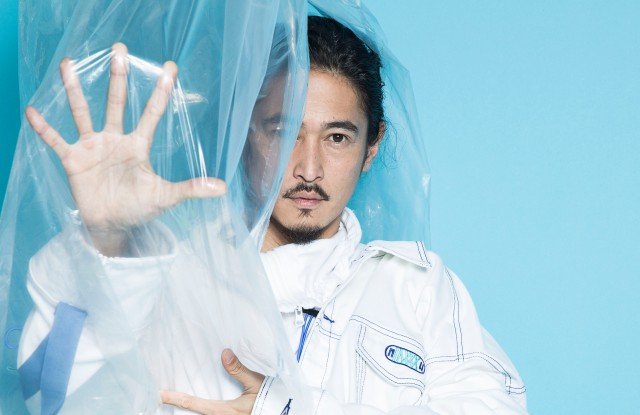 Yosuke Kubozuka wearing INXX Spring Summer 2019 collection