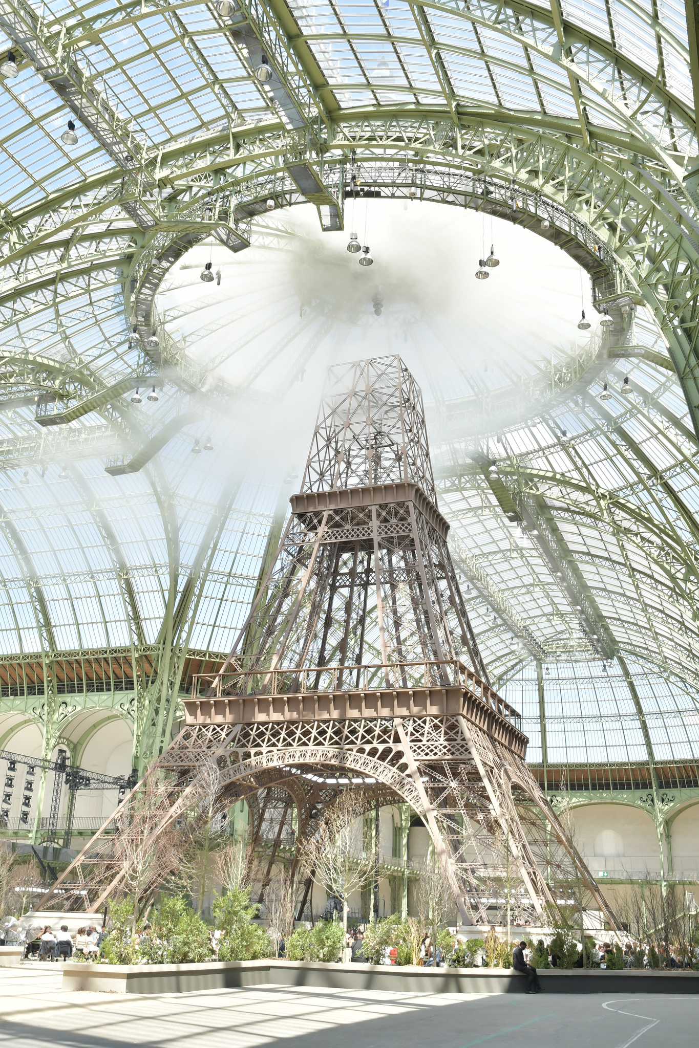 The set at Chanel fall 2019.
