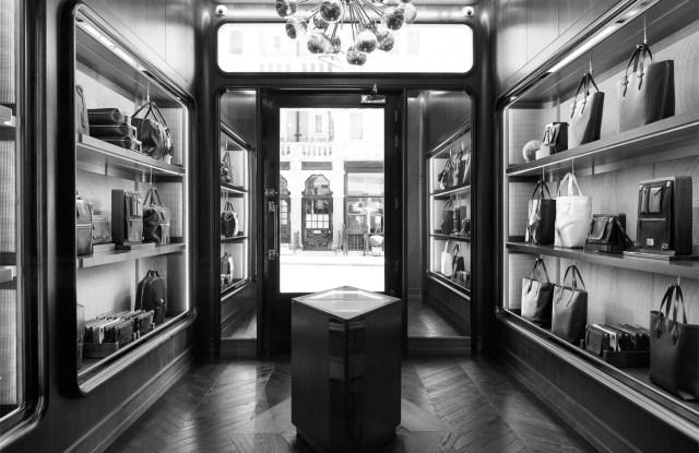Inside the Métier store in London's Mayfair