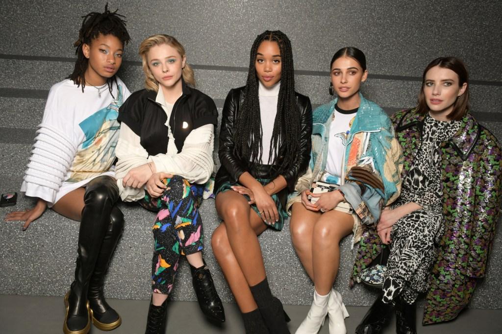 Willow Smith, Chloe Grace Moretz, Laura Harrier, Naomi Scott and Emma Roberts