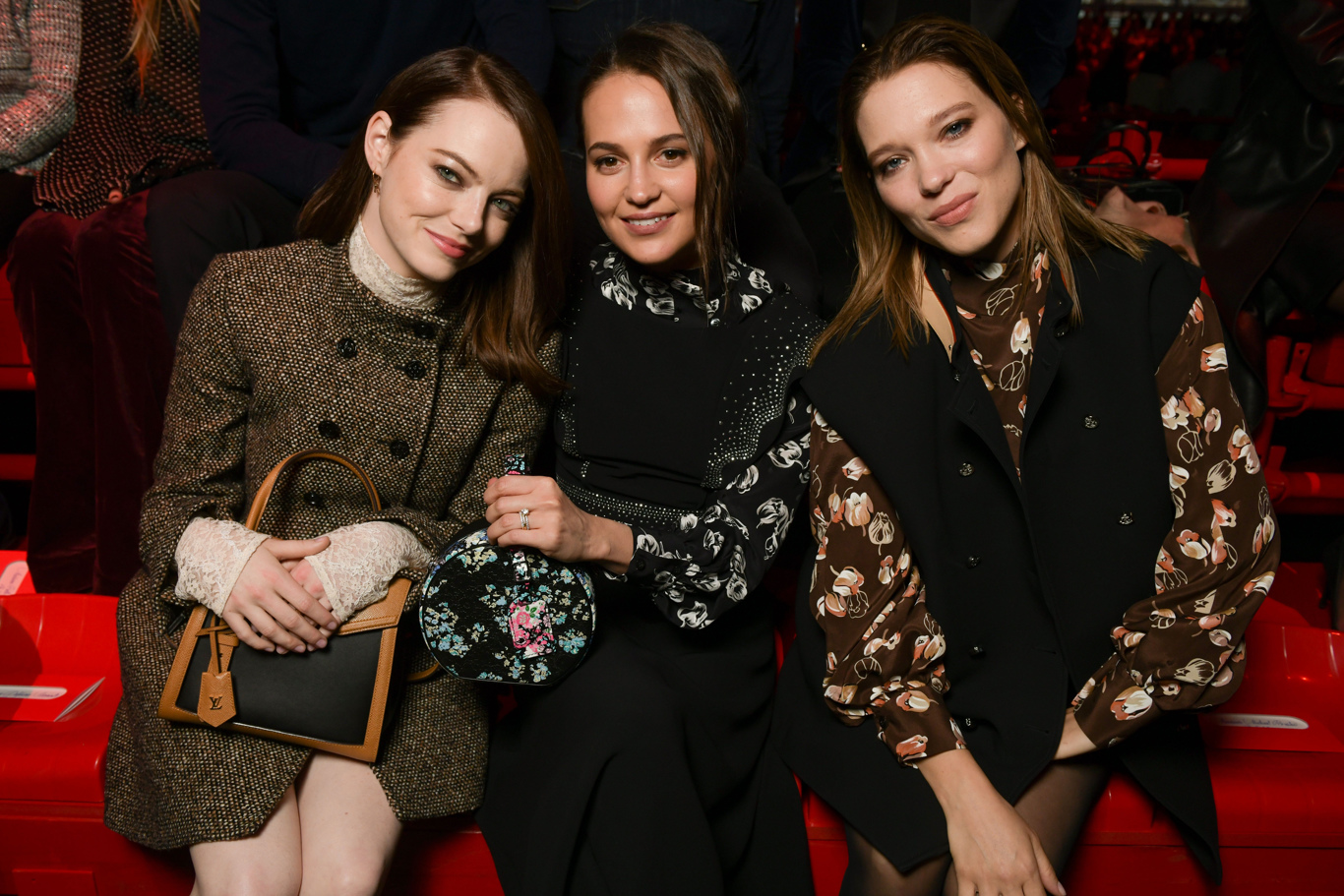 Emma Stone, Alicia Vikander and Lea Seydoux