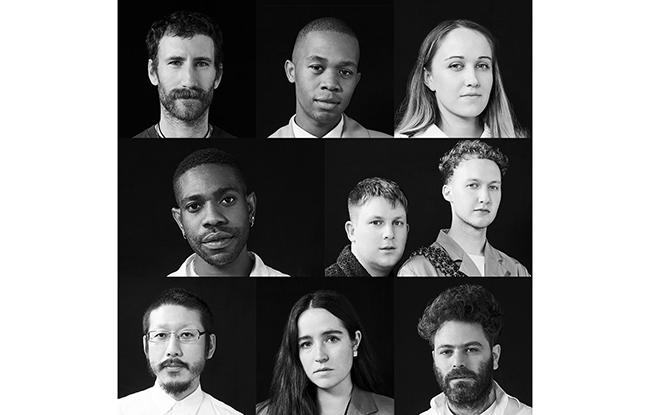 The finalists of the sixth edition of the LVMH Prize for Young Designers.