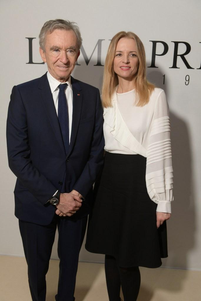Bernard and Delphine Arnault