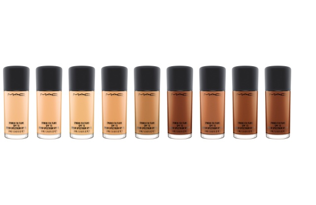 MAC Studio Fix Fluid SPF 15 Foundation.