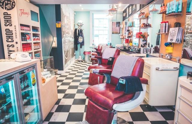 Johnny's Chop Shop on Marshall Street, London