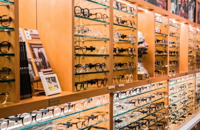 Moscot Orchard Street location in New York.