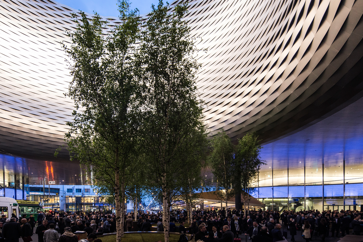 Baselworld - outside the show hall