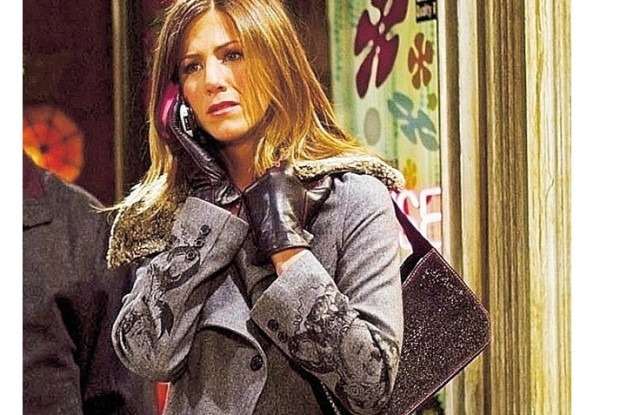 Jennifer Aniston's character from Friends Rachel Green and her signature baguette bags from the Nineties are inspiring accessories designers for fall 2019