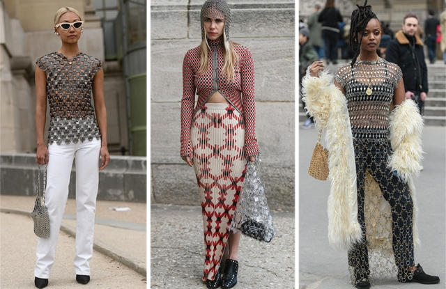 Street Style Trends Fall 2019: Chainmail in Paris