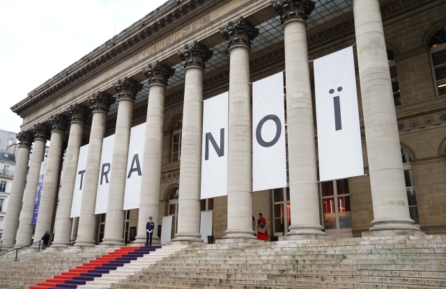 The Tranoi Paris trade show.