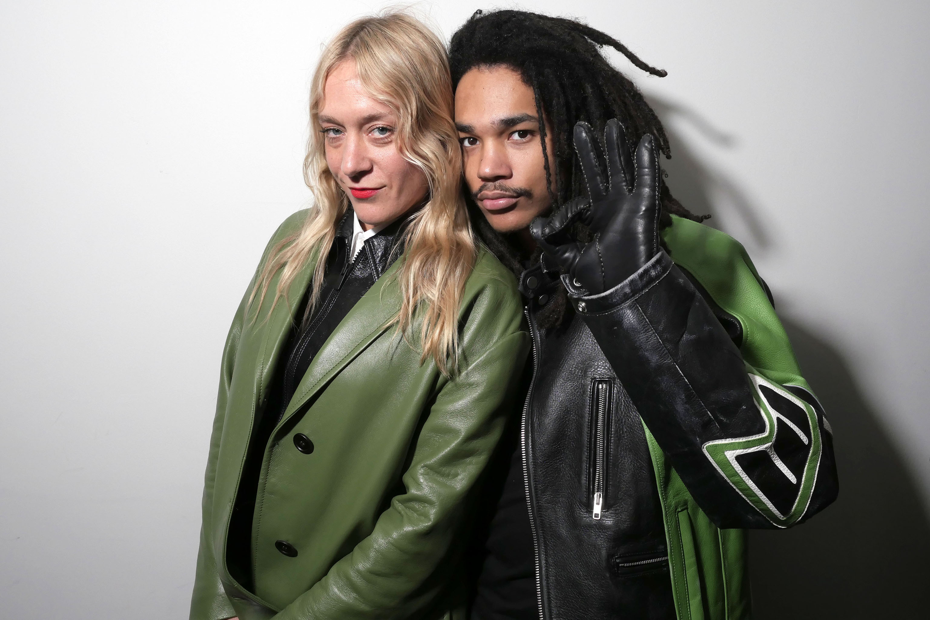 Chloe Sevigny and Luka Sabbat