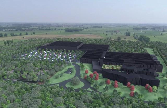 A rendering of Chromavis' new hub in Italy
