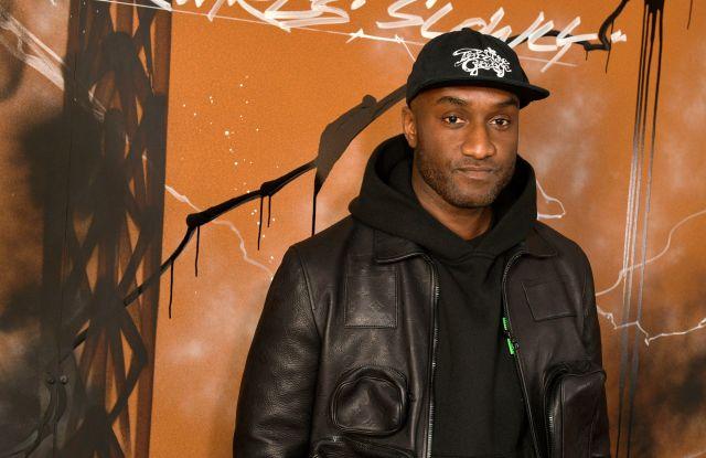 Virgil Abloh backstageLouis Vuitton show, Backstage, Fall Winter 2019, Paris Fashion Week Men's, France - 17 Jan 2019