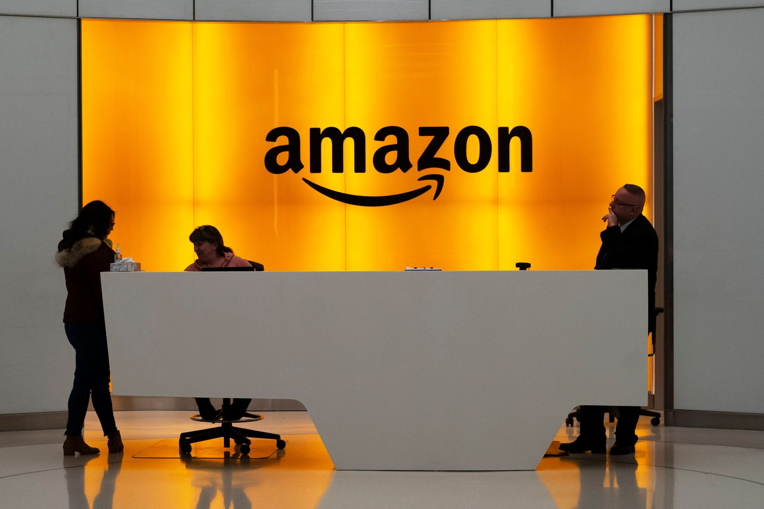 Amazon is battling a group of warehouse employees in California federal court.