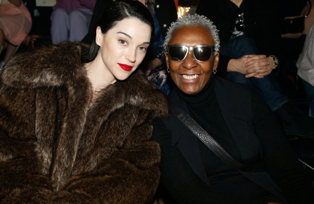 St Vincent and Bethann Hardison at the Gucci RTW Fall 2019 show