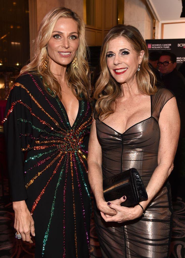 Jamie Tisch and Rita WilsonThe Women's Cancer Research Fund hosts An Unforgettable Evening, Cocktails, Beverly Wilshire Hotel, Los Angeles, USA - 28 Feb 2019