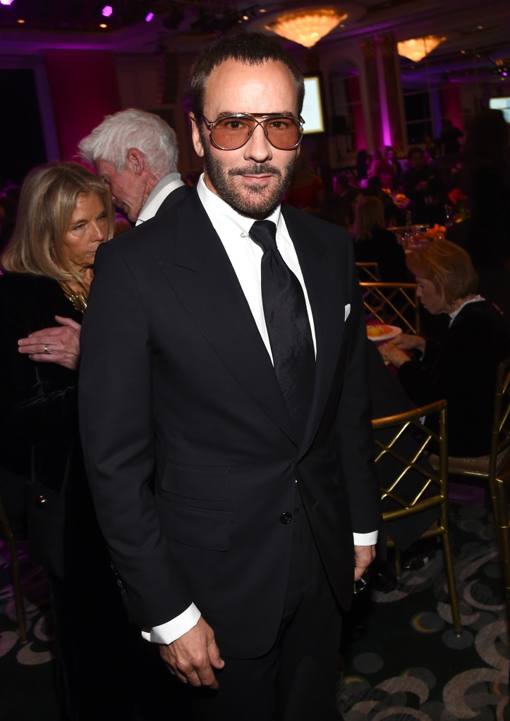 Tom FordThe Women's Cancer Research Fund hosts An Unforgettable Evening, Cocktails, Beverly Wilshire Hotel, Los Angeles, USA - 28 Feb 2019
