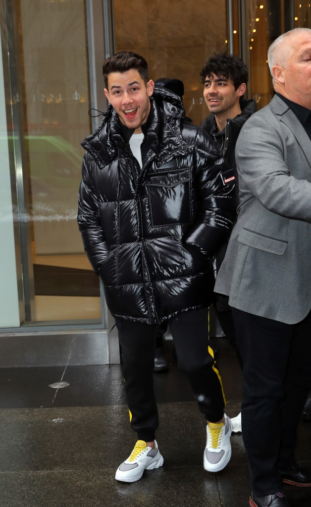 Nick JonasJonas Brothers out and about, New York, USA - 01 Mar 2019