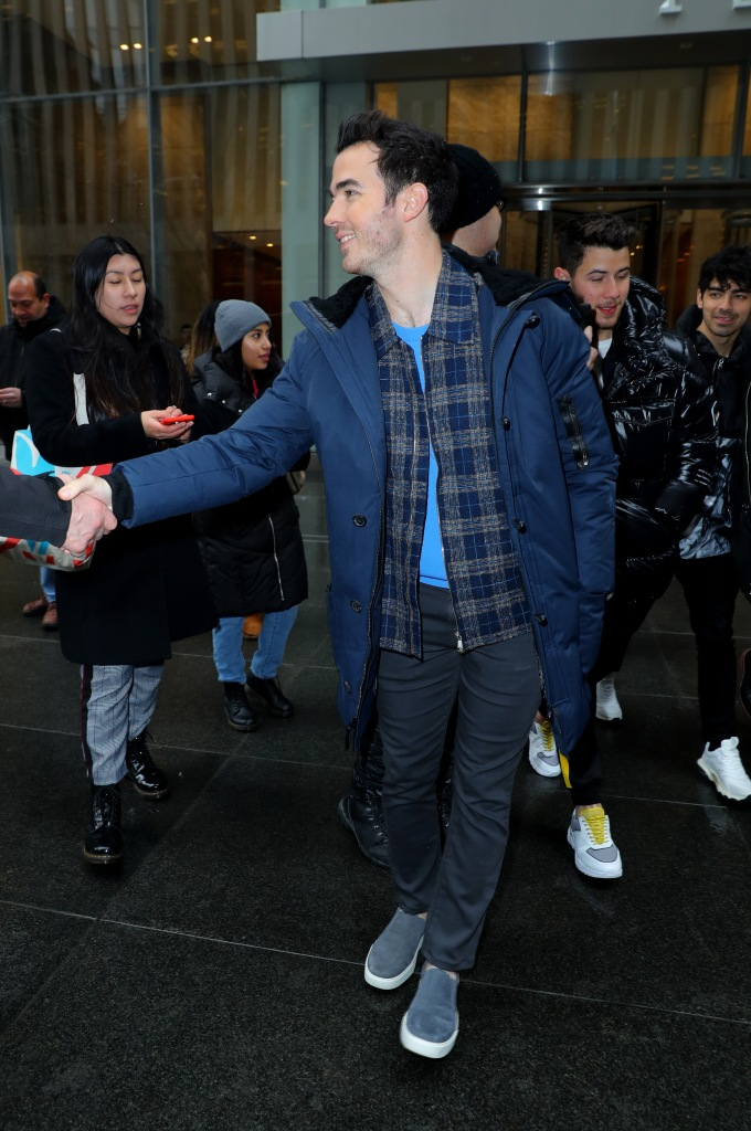 Kevin JonasJonas Brothers out and about, New York, USA - 01 Mar 2019