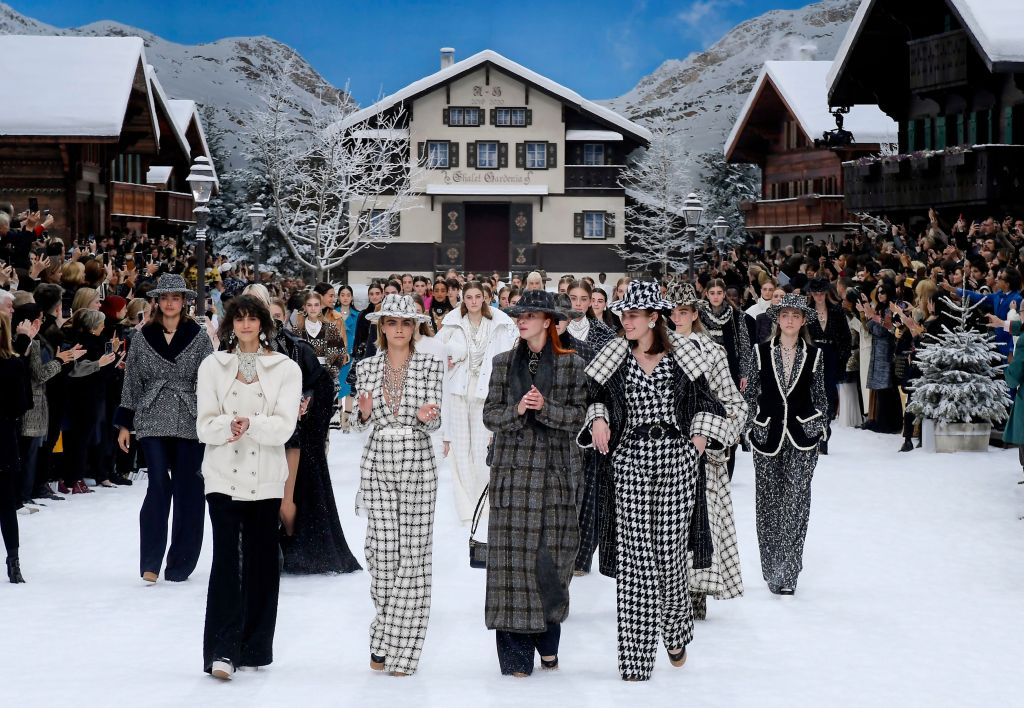 The finale at Chanel RTW Fall 2019