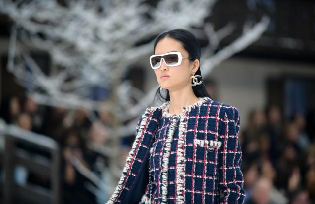 Model on the catwalkChanel show, Runway, Fall Winter 2019, Paris Fashion Week, France - 05 Mar 2019