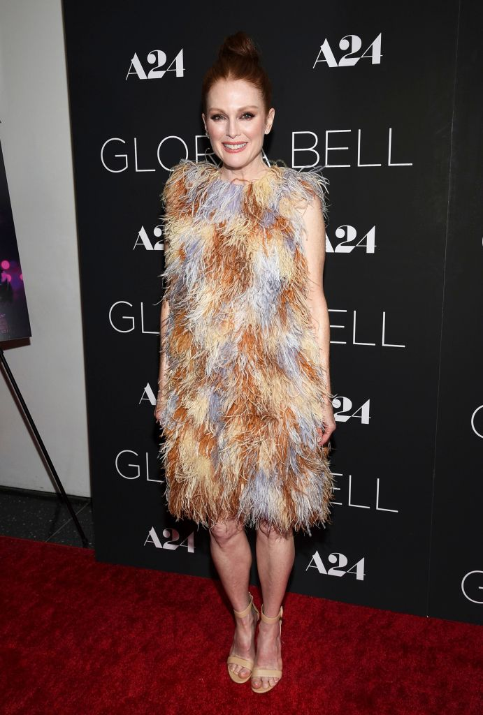 """Julianne Moore attends a special screening of """"Gloria Bell"""" at the Museum of Modern Art, in New YorkNY Special Screening of """"Gloria Bell"""", New York, USA - 04 Mar 2019"""