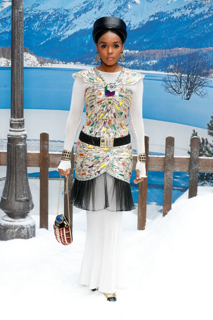 Actress Janelle Monae poses for photographers upon arrival at the Chanel ready to wear Fall-Winter 2019-2020 collection, that was presented in ParisFashion 2019 F/W Chanel Arrivals, Paris, France - 05 Mar 2019