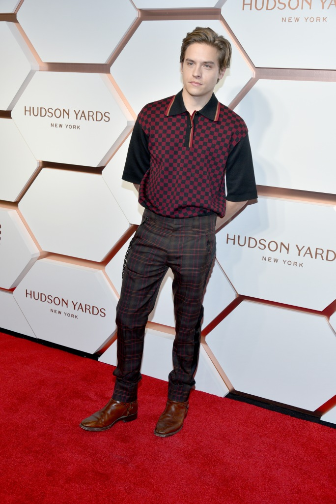 Dylan SprouseThe Shops and Restaurants at Hudson Yards VIP Grand Opening Event, Arrivals, New York, USA - 14 Mar 2019