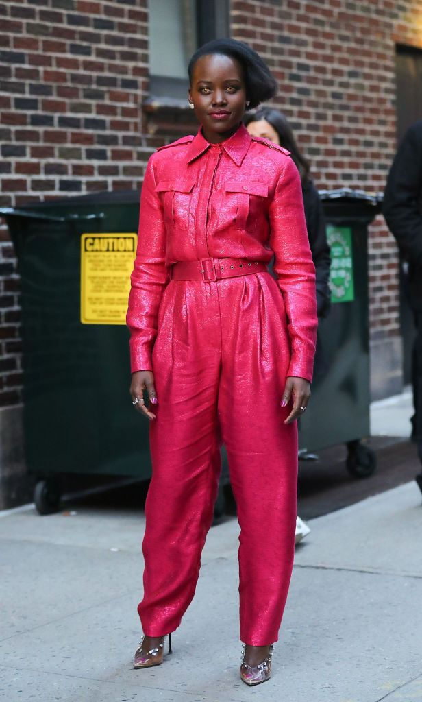 Lupita Nyong'o'The Late Show with Stephen Colbert' TV show, New York, USA - 18 Mar 2019
