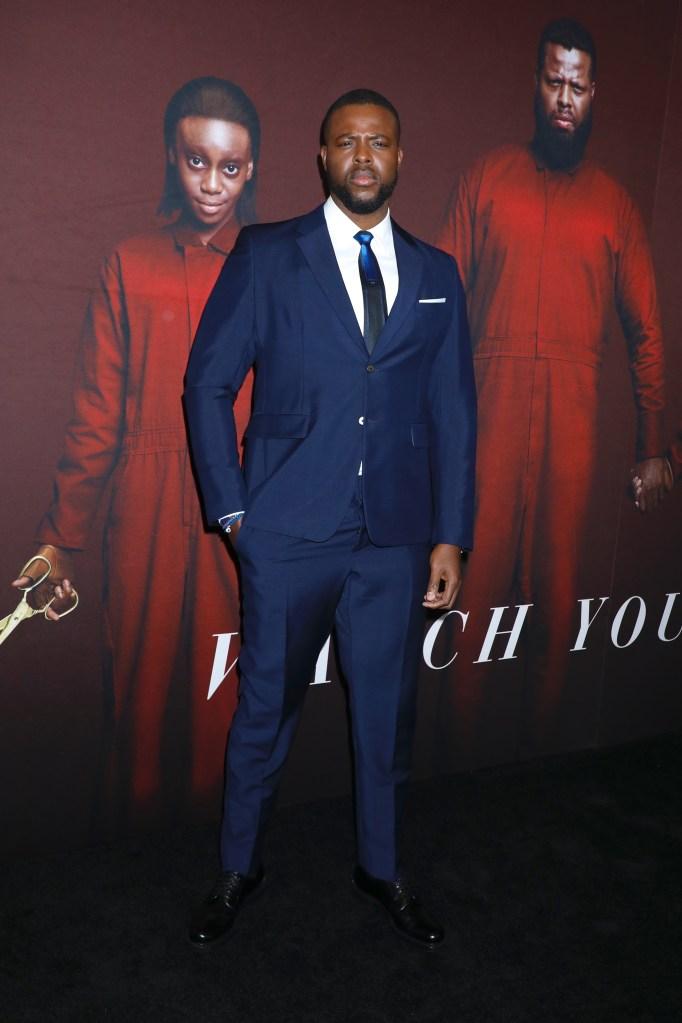 Winston Duke'Us' film premiere, Arrivals, New York, USA - 19 Mar 2019Wearing Prada