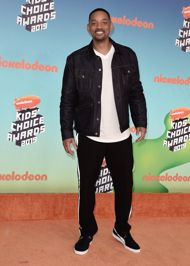 Will SmithNickelodeon Kids' Choice Awards, Arrivals, Galen Center, Los Angeles, USA - 23 Mar 2019