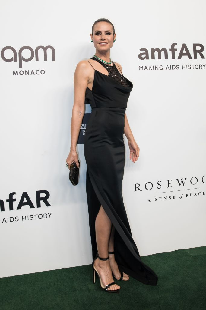 German-US model and amfAR Event Chair Heidi Klum arrives for the amfAR fundraising Gala Hong Kong 2019 in Hong Kong, China, 25 March 2019. The charity event benefits the foundation's AIDS research programs.amfAR Gala Hong Kong 2019, China - 25 Mar 2019