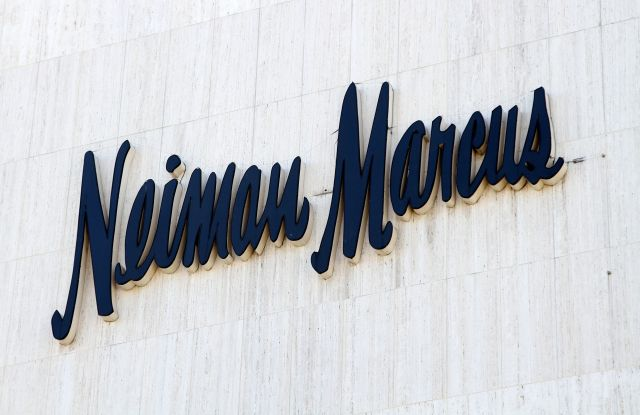 Neiman MarcusShop signs, Los Angeles, America - 04 Apr 2015