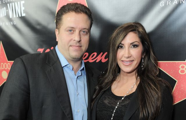 From left, Chris Laurita and Jacqueline Laurita attend Walgreens 8000th Store Opening,, in Los AngelesWalgreens 8000th Store Opening, Los Angeles, USA