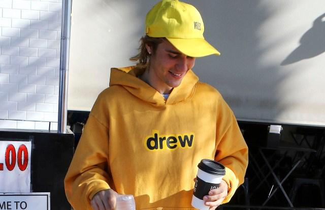 Justin Bieber in Drew House
